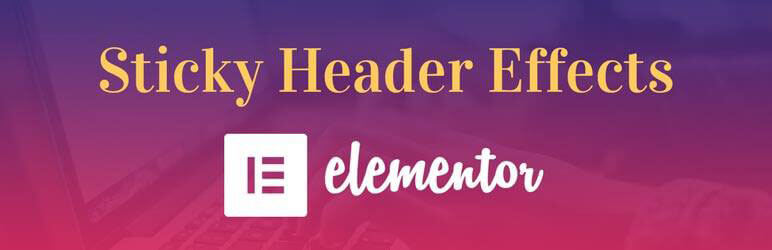 Sticky Header Effects for Elementor