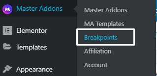 Custom Breakpoint for Elementor