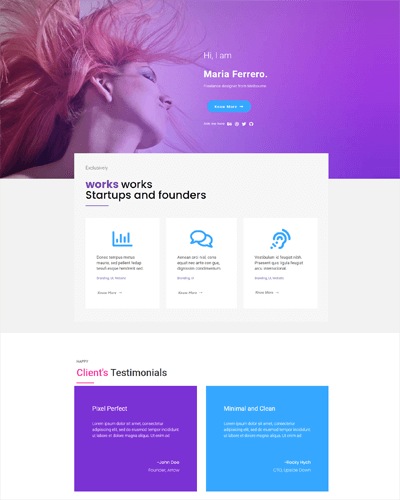 Master Addons Template